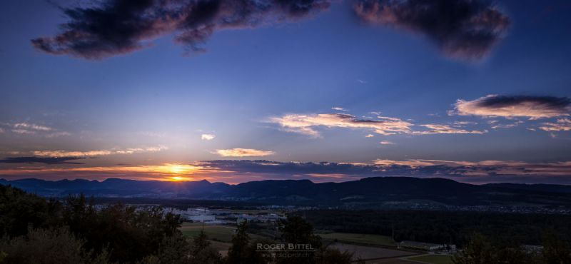 Lenzburg Panorama